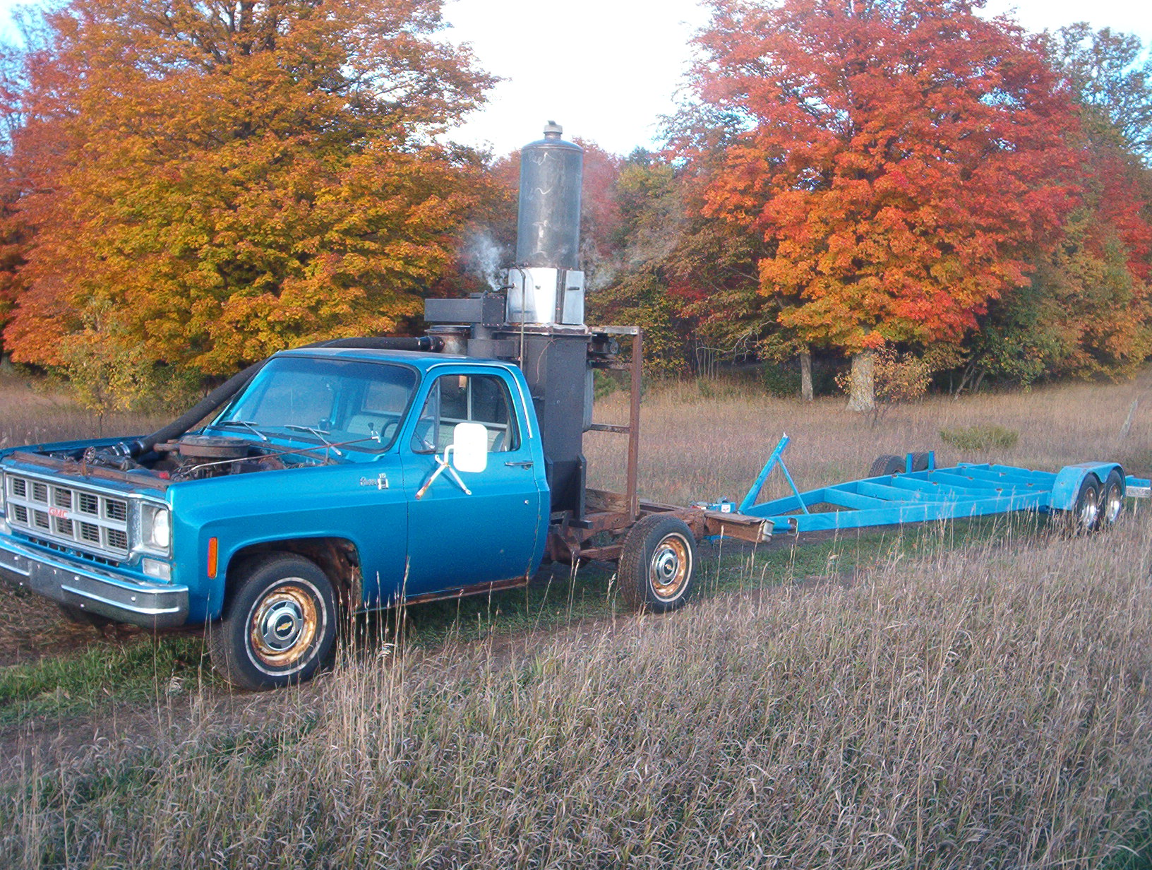 Maple Block Fueled 1978 GMC Pickup with 350CID (5L) engine